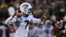 Report: TCU QB Kenny Hill doesn't travel with team to Texas Tech