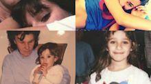 Instacram: Lea Michele Shares Cory Monteith Memories in Polaroid Series