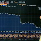 Coronavirus: European stocks fall as pessimism about recovery takes hold