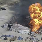 Correction: Chemical Plant Fire-Texas story