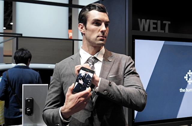 Samsung's weird wearables include a smart suit and solar purse