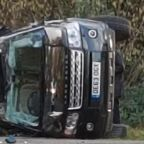 Buckingham Palace reports Prince Philip was uninjured in crash