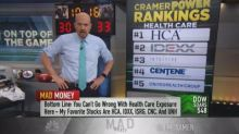 Cramer's 5 health-care stocks he likes right now
