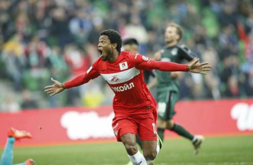 Luiz Adriano marca e garante título do Spartak Moscou na Supercopa