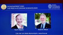 Le Nobel d'économie à deux Américains en quête des enchères parfaites
