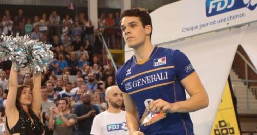 Volley - Antoine Brizard avec St矇phane Antiga � Varsovie
