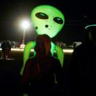 Several dozen alien hunters gather near secretive US base at 'Area 51'