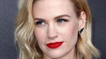 January Jones and Her Son: Do Preschoolers Really Need to Moisturize?