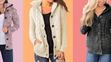 """""""My new favorite sweater': Amazon's wildly popular cardigan triples as a sweatshirt and jacket"""