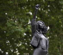 City removes statue of BLM protester that took slave trader's place