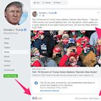 The Facebook pages that spread the most election misinformation belong to Trump, his son, and a set of right-wing commentators, new research finds
