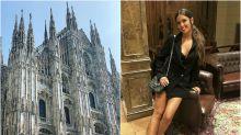 El look de Cristina Pedroche en Milán: ¿sexy o vulgar?