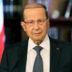 Aoun warns Arab states against pushing Lebanon into 'fire'