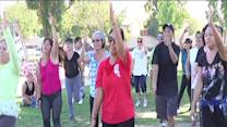 Zumba reclaims neighborhood park