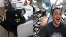 Waffle House Customer Cooks His Own Meal After Finding Staff Asleep