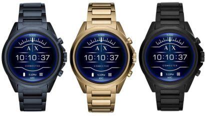 Armani le pone un poco de estilo a los smartwatch con el Exchange Connected