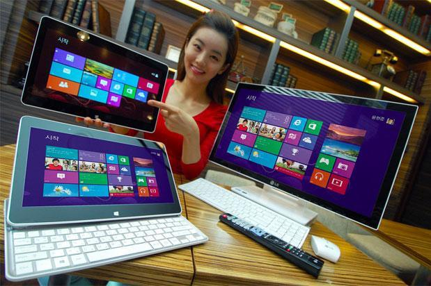 LG announces Windows 8 12-inch slider laptop hybrid and all-in-one PC (updated)