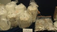 Hong Kong officers seize HK$43 million worth of Ice from machinery parts shipped from Mexico