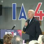 "Biden calls voter a ""damn liar"" in Iowa"