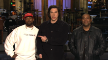 Kenan Thompson reacts to Kanye West's uncomfortable pro-Trump rant on 'SNL'