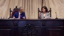 Calvo: Sólo podemos estar aforados en el ejercicio de las funciones del cargo
