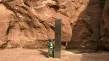 """Desaparece el misterioso """"monolito"""" de metal hallado en un desierto de EEUU"""