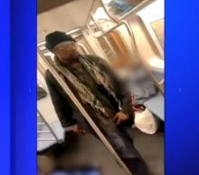 Police arrest man after elderly woman beaten on subway