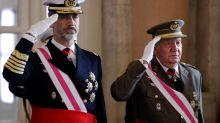 Spain's former king under cloud of scandal