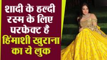 Himanshi Khurana flaunted the lehenga-choli, fans got heart on this dress with handwork