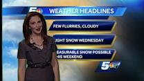 Hayley's latest forecast