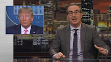 John Oliver on Trump downplaying coronavirus: 'You can't just ignore real numbers'