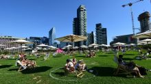 Never mind the skyscrapers, grab a deckchair on Milan's 'beach'
