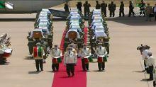 France returns skulls of Algerians who fought colonisation