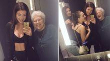 Aos 89 anos, ela nunca teve uma noite com as amigas, até ser convidada a curtir com adolescentes