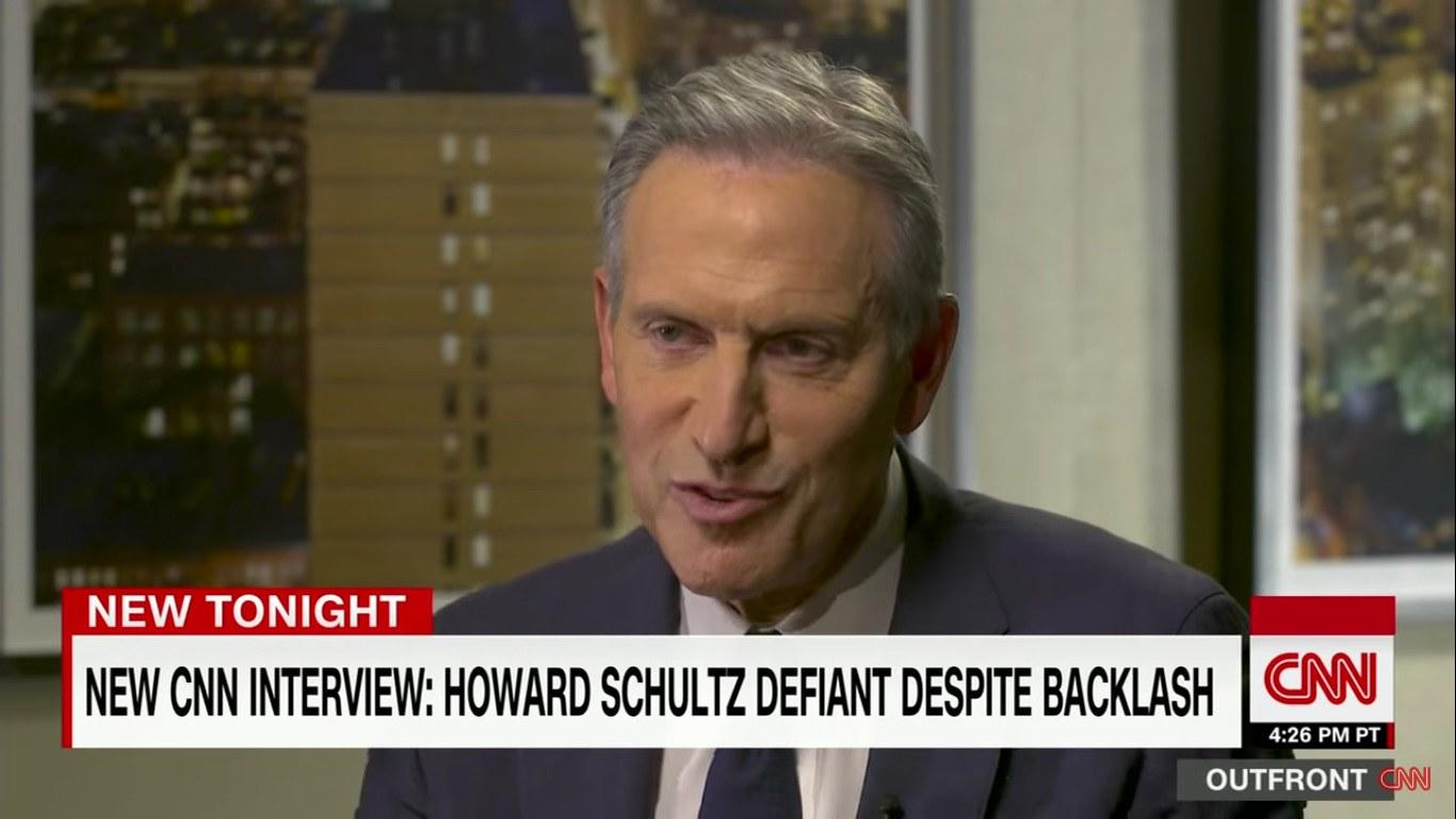 Howard Schultz's Health-Care Policies Don't Make Sense
