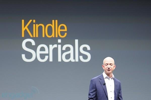 Amazon intros Kindle Serials: buy once, get them all