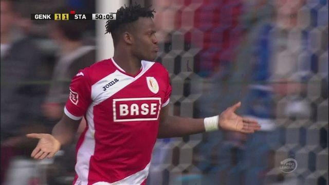 Ten men Standard Liege held to draw