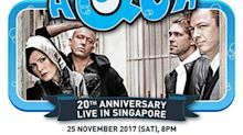 Danish eurodance group AQUA's concert in Singapore cancelled