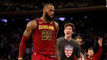 'King of New York' LeBron James takes a bow after his latest star turn at MSG