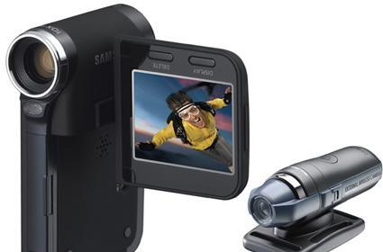 Samsung's SC-X205L and SC-X210WL sports cameras cut the cord