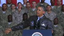 Obama Slips Into Afghanistan to Visit US Troops
