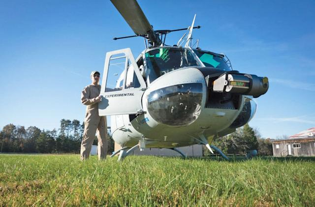 Autonomous helicopter makes first operational delivery to Marines