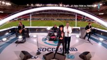 Robbie Williams' hologram rocks Soccer Aid and shocks viewers!