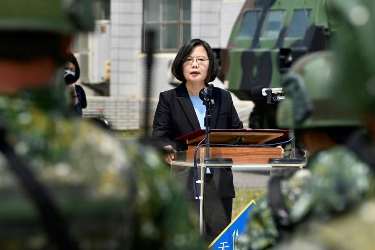 China has ramped up fighter flights and warship crossings near Taiwan since the election of President Tsai Ing-wen