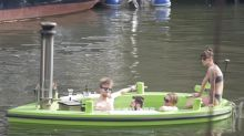 You can cruise down Regent's Canal in a hot tub this summer