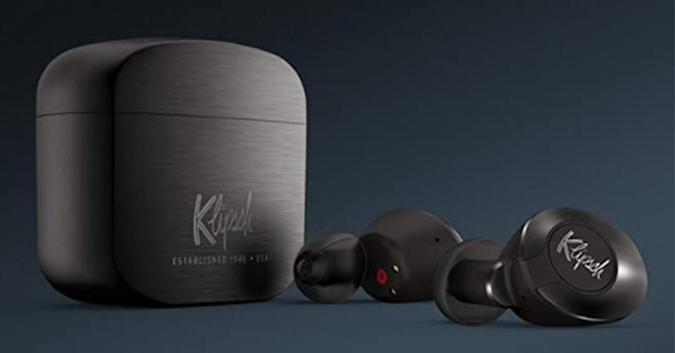 The Klipsch T5 II wireless earbuds.