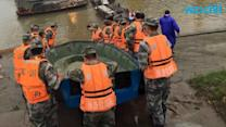 Boat Carrying 450 People Sinks in China's Yangtze River