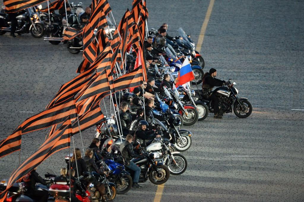 poland turns back pro kremlin bikers at border. Black Bedroom Furniture Sets. Home Design Ideas