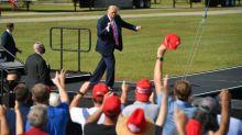 Biden acusa Trump de render-se diante da covid-19 a poucos dias das eleições