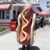 Aww, people thought it was ~National Hot Dog Day~ and not ~National Dog Day~